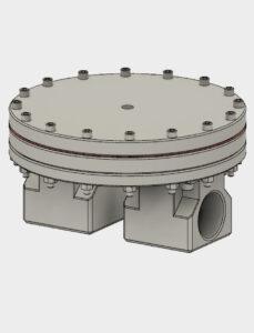 Bild von Stepfile für BD12 Vordruckregler - Aluminium