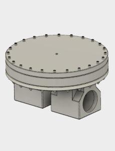 Bild von Stepfile für BD24 Vordruckregler - Aluminium