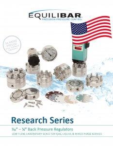 Cover der Produktbroschüre Research Series (ENG)